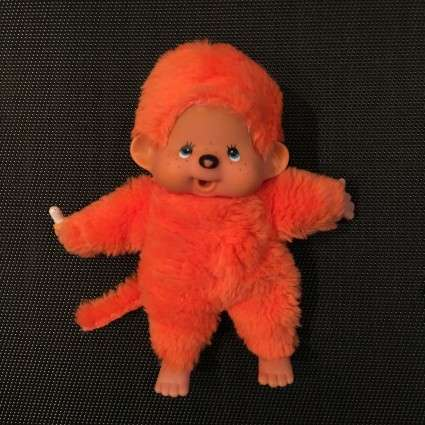 Peluche Kiki orange