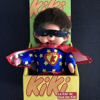 Peluche Super Kiki en boîte d'origine