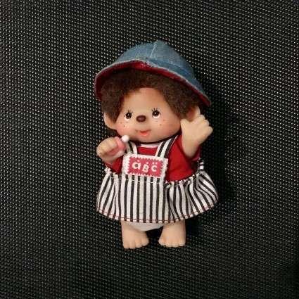 "Mini Kiki articulé ""abc fille"""