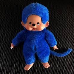 Peluche Kiki bleu indigo