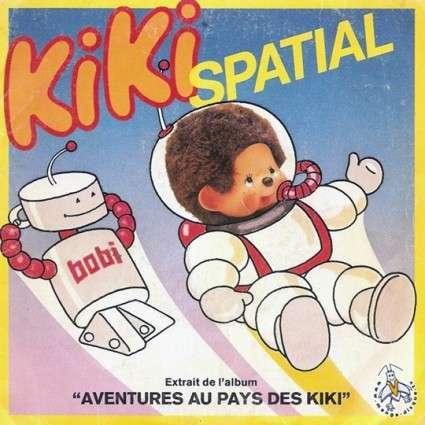 Vinyle Kiki spatial - Kiki lunaire