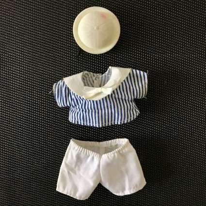 Tenue Petit Kiki marin