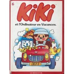 Album Kiki Tome 6 - Kiki et l'Ordinateur en Vacances