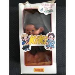 Peluche Kiki marron 19 cm en boîte Ajena