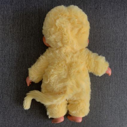 Peluche Grand Kiki jaune