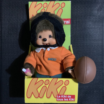 Kiki rugbyman orange