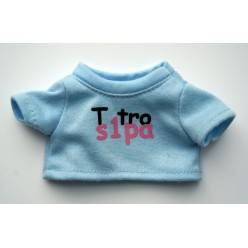 "T-shirt Kiki texto ""T tro s1pa"""