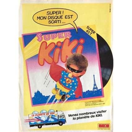 Encart presse Ajena pour le vinyle Super Kiki