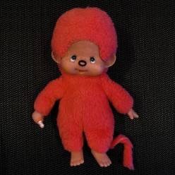 Peluche Kiki rouge