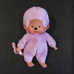 Kiki violet de face