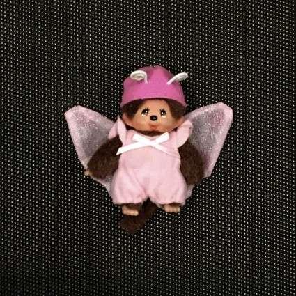 Peluche Mini Kiki papillon
