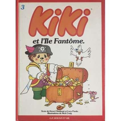 Album Kiki Tome 3 - Kiki et l'Ile Fantôme